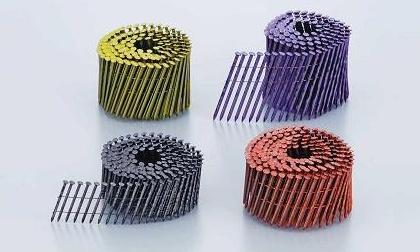 カラーN釘針金連結釘